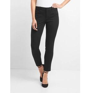 Gap NWT Skinny Ankle Pants Black Size 6 v320